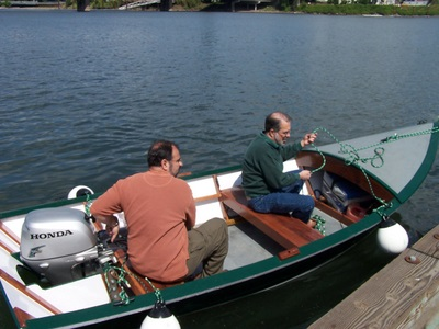 building the simmons sea skiff